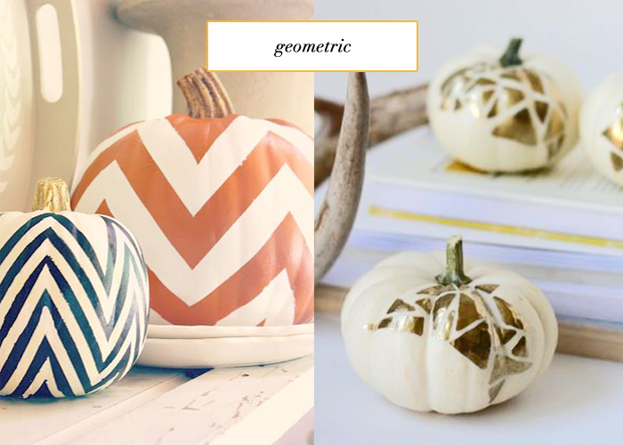 geometric-pumpkins
