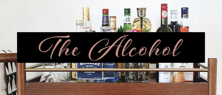 The Acohol - Bar Cart Essentials