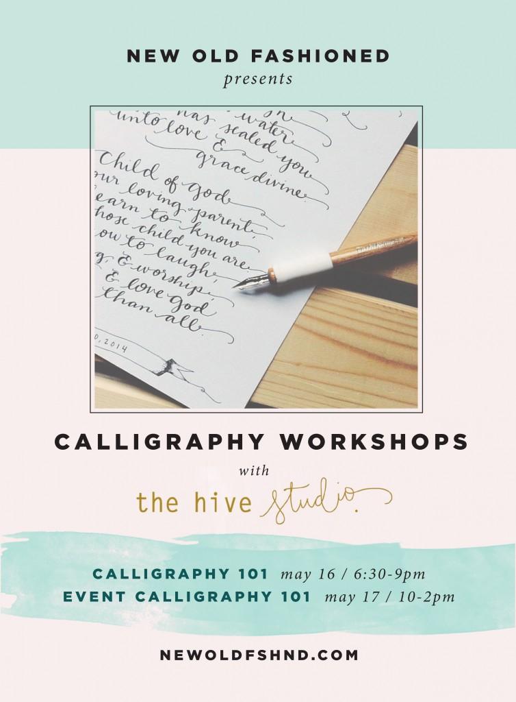 calligraphy-flyer
