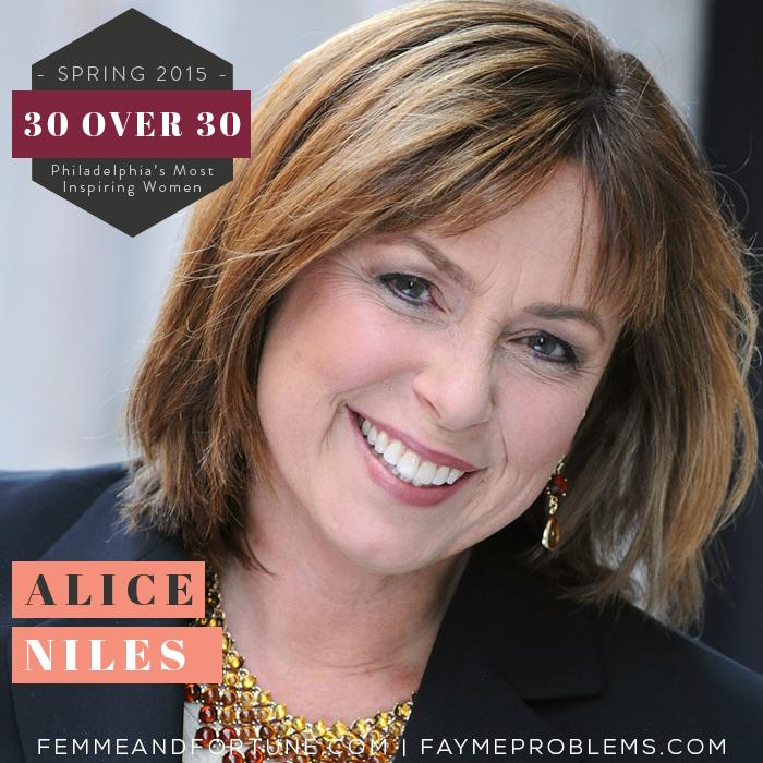 Alice Niles | Femme & Fortune | 30 Over 30