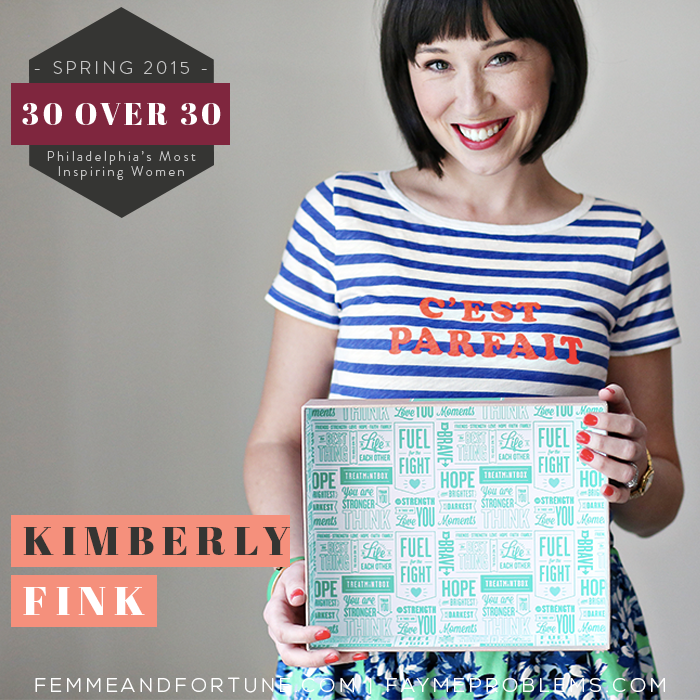 Kimberly Fink | Femme & Fortune | 30 Over 30