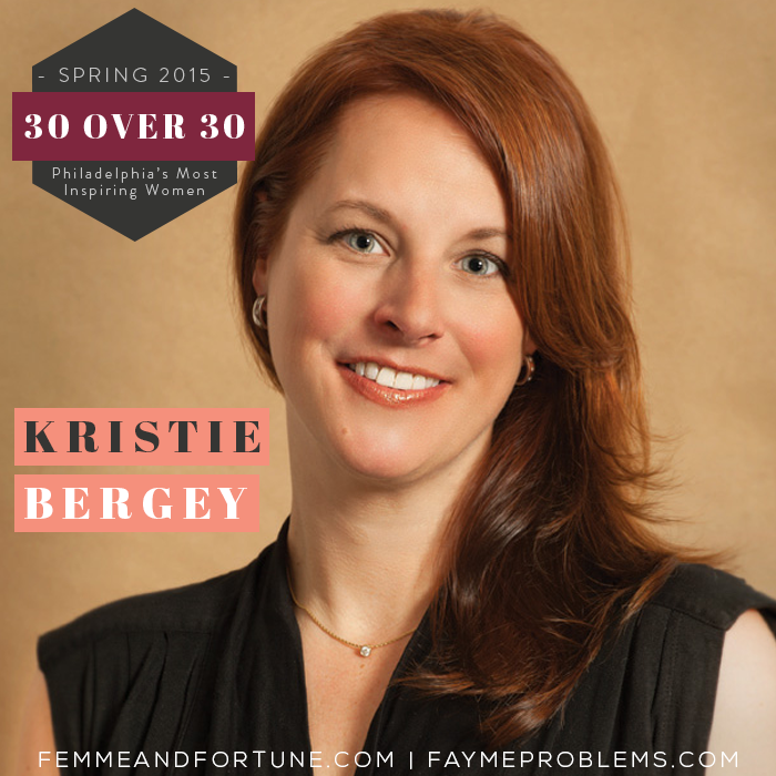 Kristy Bergey | Femme & Fortune | 30 Over 30