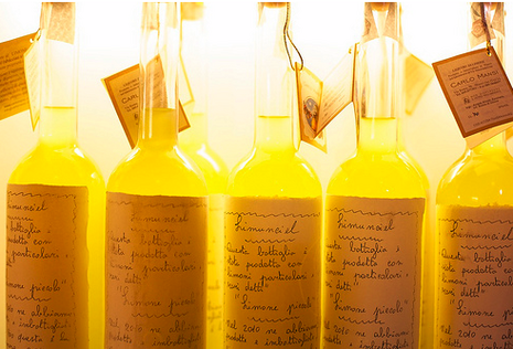 Homemade Limencello