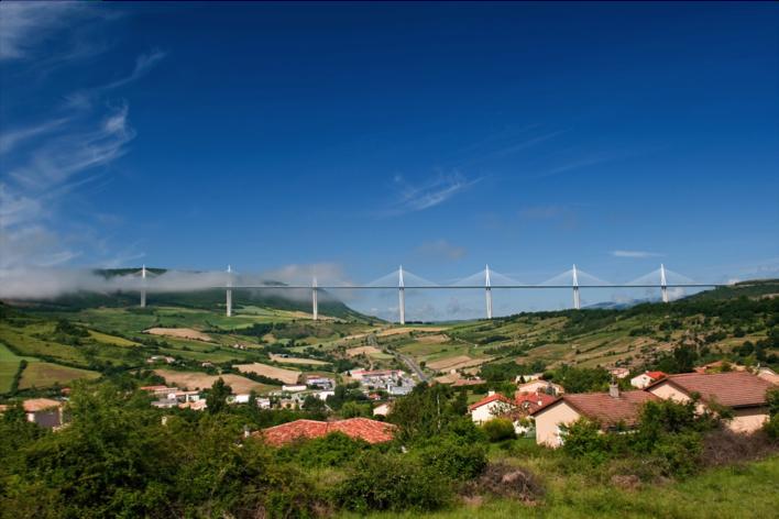 Millau Viaduct, Southern France