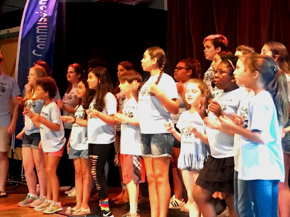 Register today for our second season of Camp A Cappella CT! - June 24-29th in Westport, Connecticut.