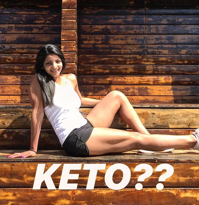 """Thoughts on KETO??"" ✨ I get asked about keto a LOT…. Almost daily. And I have always tried to give stupid politically correct responses. ""Do what works for you! etc etc"" ✨ But I need to be totally blunt on how I truly feel about this. ✨ If weight loss is your goal I think the keto diet is one of the most unnecessary things you can POSSIBLY inflict upon yourself to lose weight. ✨ . The keto diet essentially cuts all carbs out of your diet: You eat high fats, moderate protein, which puts you in a state of ketosis — ie burning ketones from fat for fuel rather than carbs. IF — and only IF — you are in a calorie deficit, you will shed fat on keto (just like you would on any diet). Thing is most people can't realistically stick to it long term, you get MAJOR cravings from no carbs, and you're super likely to rebound when you try and eat carbs again. ✨ Unless there is some MEDICAL REASON you need to be in a state of ketosis all the time (ie you have epilepsy etc), there are MUCH LESS PAINFUL and restrictive ways to create your calorie deficit and shed fat, that don't make your life suck as much. . . Look: I am a foodie. I LOVE food,  I LOVE traveling, and I LOVE going out to eat. Most of my social engagements revolve around food and 🥂 , and my clients are the same way. ✨ When I go out with friends I want to R E L A X. I go out to have fun, socialize, and ENJ OY myself, not to get more stressed out about food. ✨ I spent most of my life seeing food and the enemy to my body. ""Is this safe to eat? Will this food ""make me fat""? I can't eat that, it has carbs."" ✨ Instead of enjoying CAKE 🎂 on my birthday, all I could think about was how I would burn it off later. Even though I prided myself on being a foodie, food was never really something I was truly able to ENJOY without feeling guilty about it. ✨ But the thing is, the MORE you restrict yourself…. the HARDER you end up overeating when you slip up. ""Might as well while I'm at it, right?"" ✨ This just leads to more guilt, shame, and frustration, and PANIC the next day when you wake up feeling bloated, gross, and fatter than you did before you started your diet. . . CONTINUED IN THE COMMENTS⬇️"
