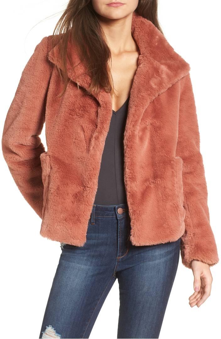 Fur-Fect Faux Fur Jacket