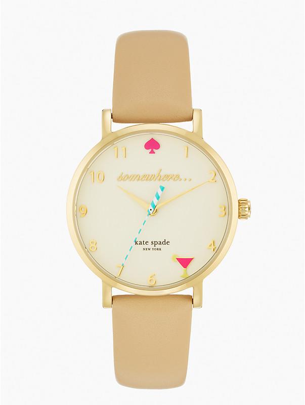 Kate Spade - 5 O'Clock Metro Watch