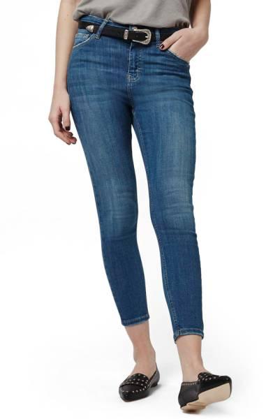Jamie High Waist Ankle Skinny Jeans