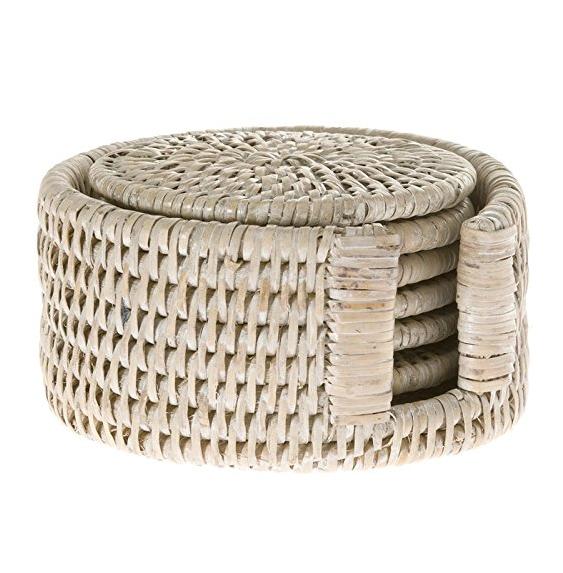 Hand-Woven Coaster Set