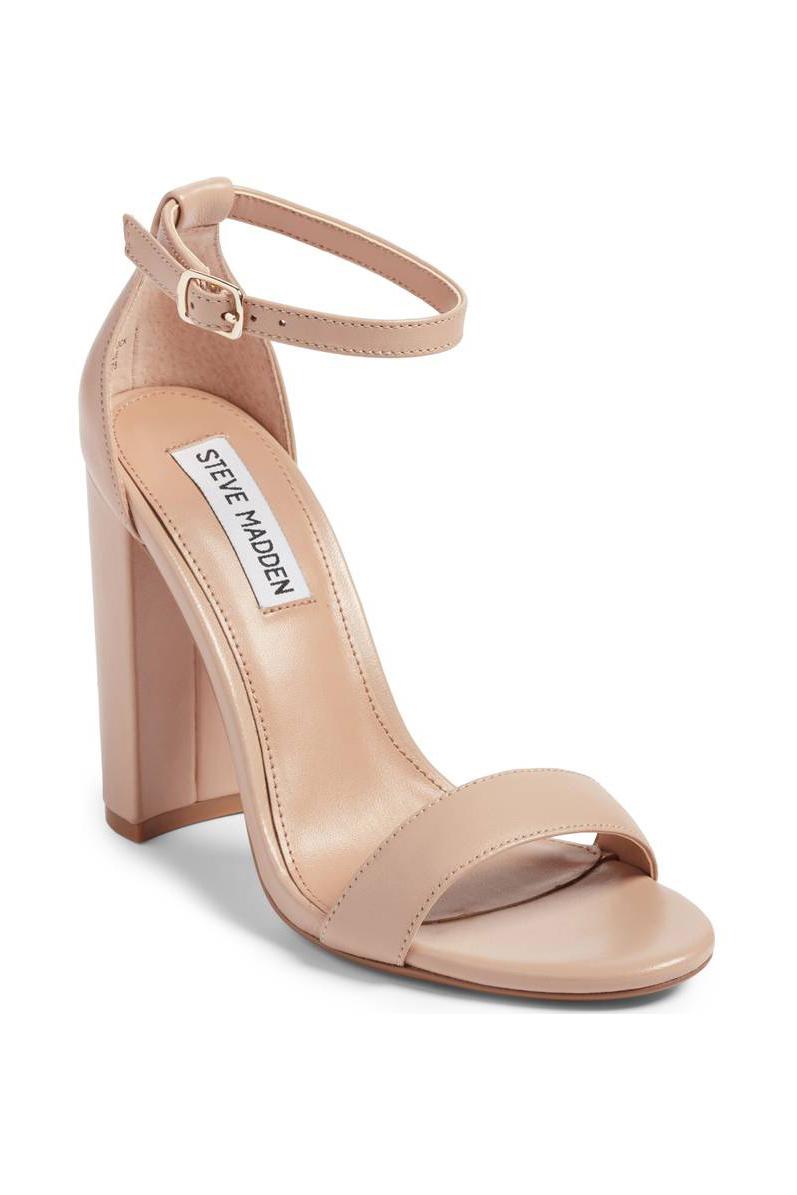 Steve Madden Carrson Sandal - Blush Leather