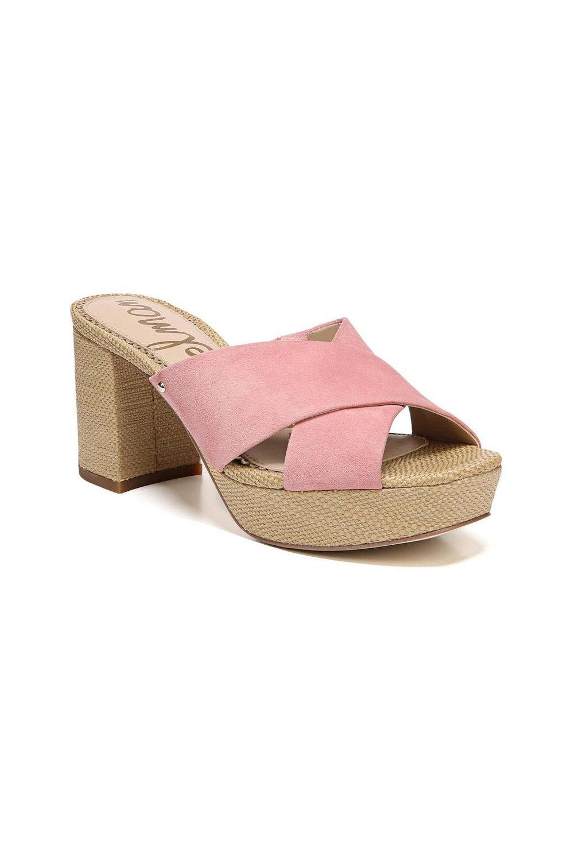 Sam Edelman Jayne Sandal - Pink Lemonade Suede