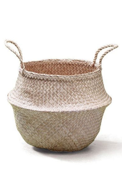 Large Seagrass Belly Basket