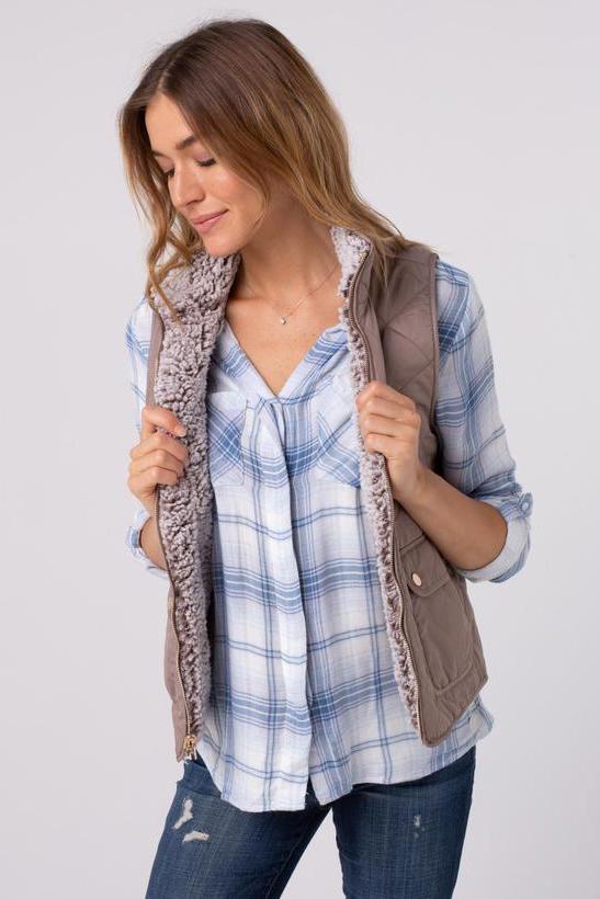 Thread & Supply Park City Reversible Vest