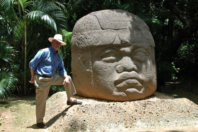 Colossal Head. Olmecs. Circa 1800 BCE)