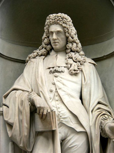 Francesco Redi statue from the Uffizi Gallery in Florence