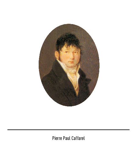 Pierre Paul Caffarel is given credit for inventing Gianduia.