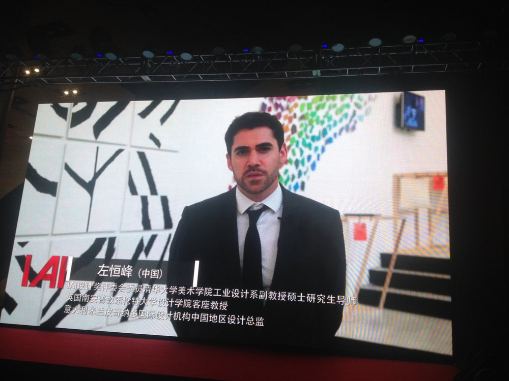 Interview for national TV, China.
