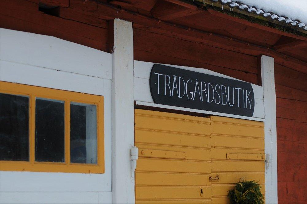 Trädgårdsbutik i Fiddekulla
