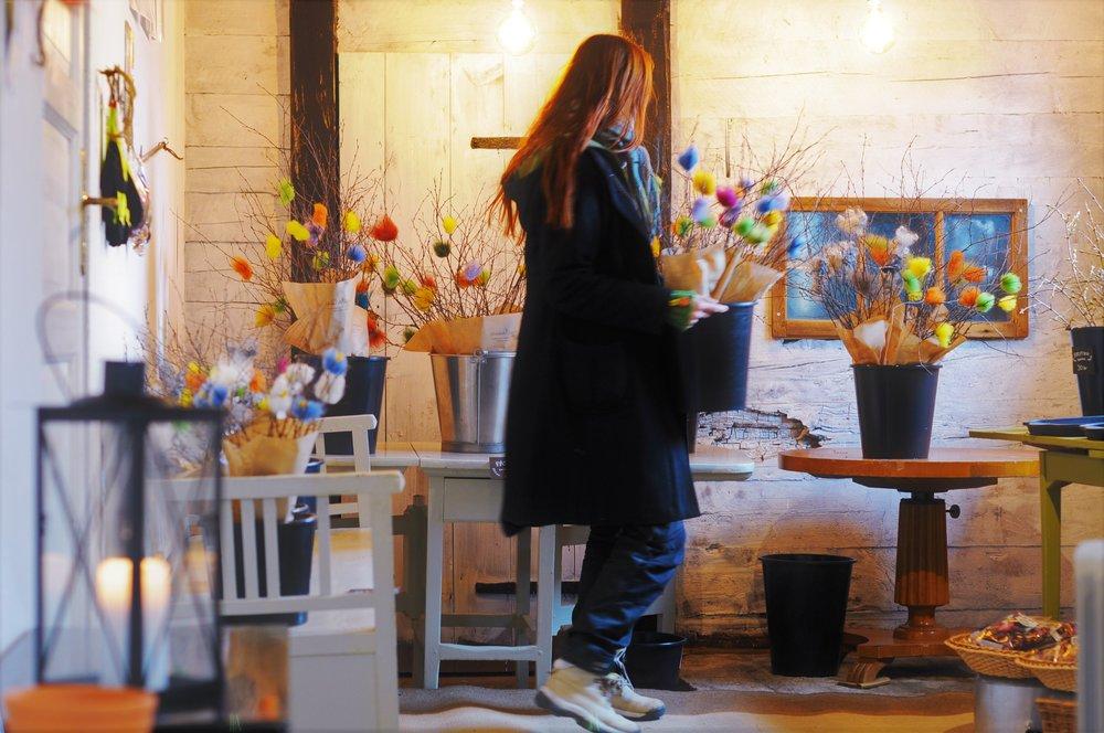 Vår i trädgårdsbutiken - Vi har öppnat, och har öppet hela påskveckan (förutom långfredagen)