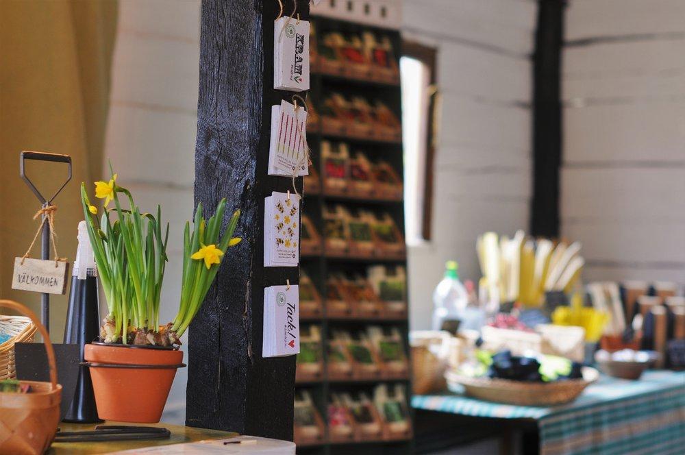 Trädgårdsbutiken i Vissefjärda