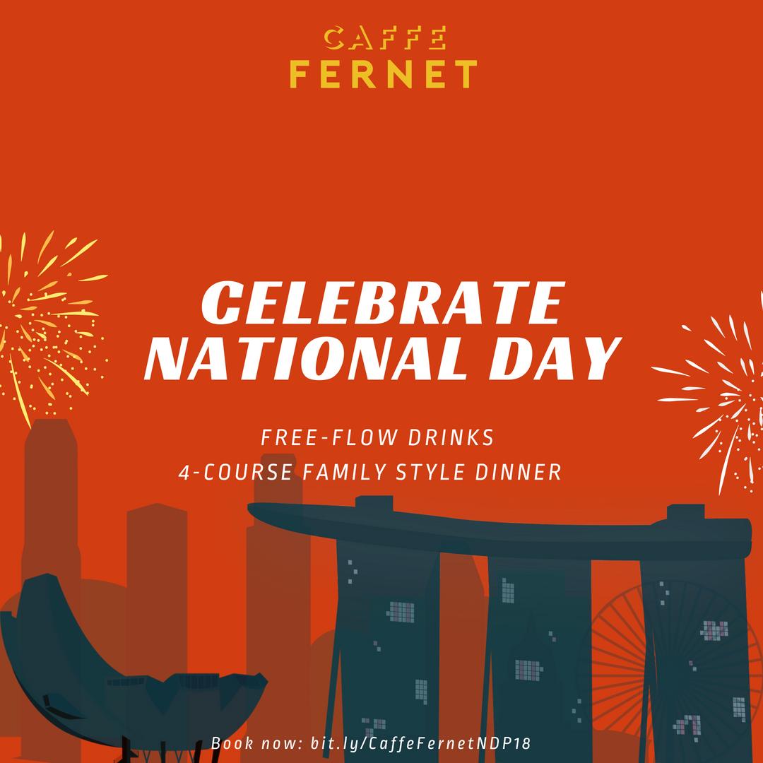 National Day 2018 — Caffe Fernet