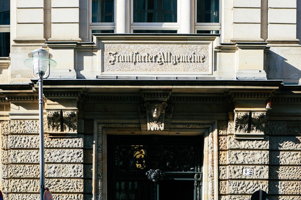 Frank Schirrmacher Preis