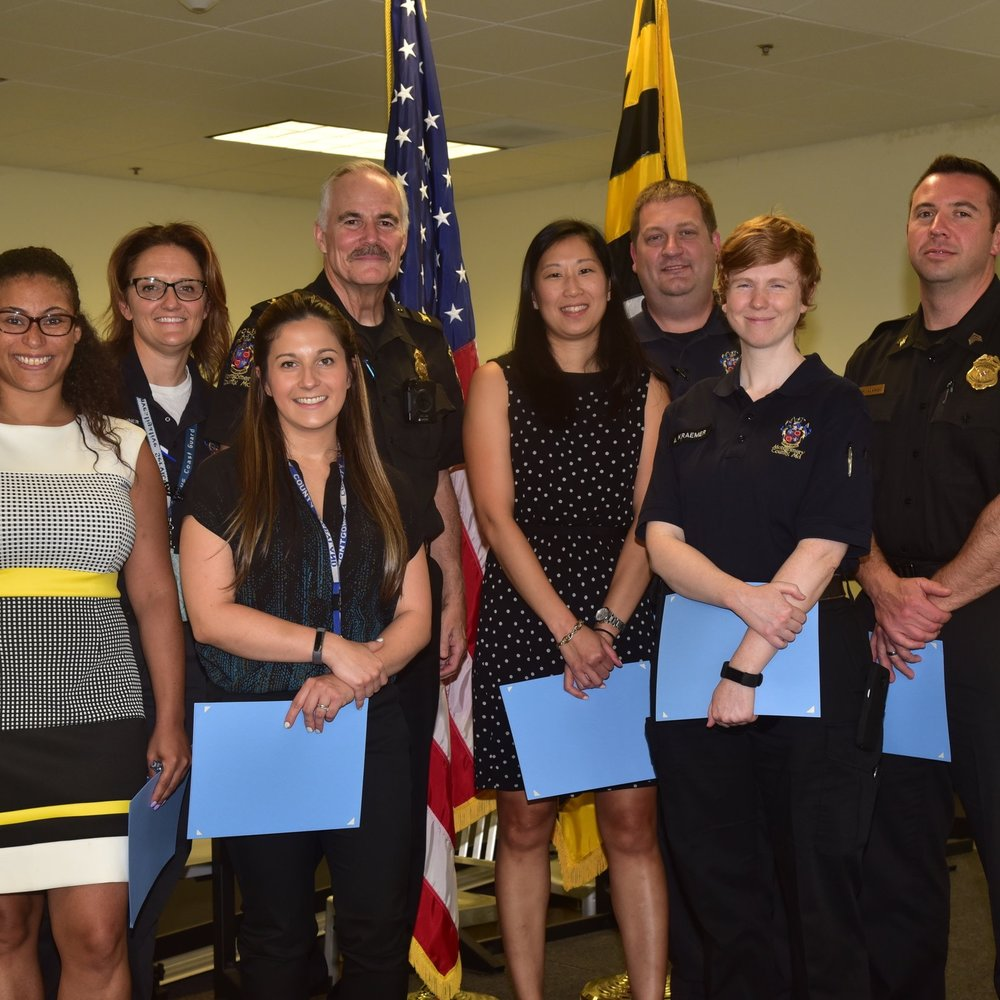 Awards Ceremony for Officers who Solved the Lyons' Kidnapping Case - Sep. 21, 2018