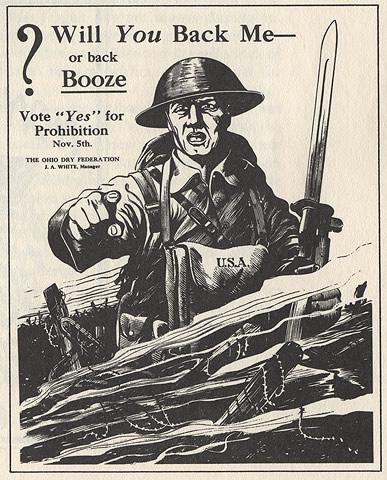 WW1 Propaganda Poster, courtesy of Ohio Historical Society
