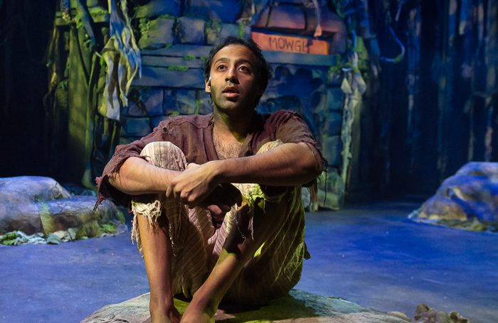 as mowgli in  the jungle book  | liverpool, 2017 | photo: brian roberts