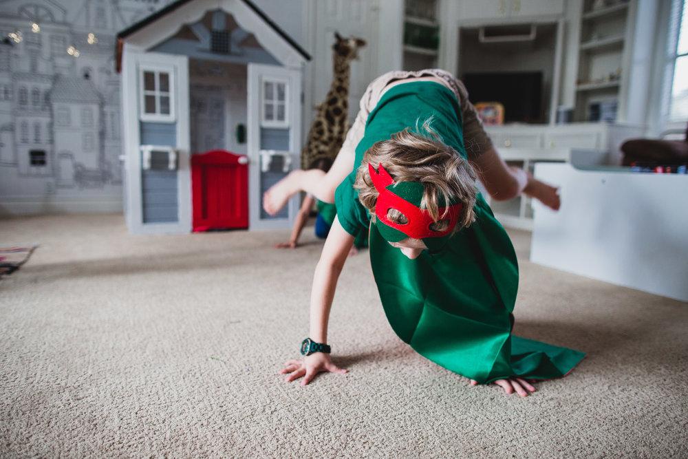 erin cummings photography in home birthday ninja turtle