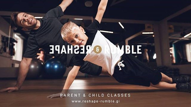 Because we know that the weekends are to be spend with the family.  Every Saturday at 11:00 AM Parent & Child class available  Please book your slot at +350 20077456 Price per child £5  Parents:  Club members-Free Not members - £8  www.reshape-rumble.gi