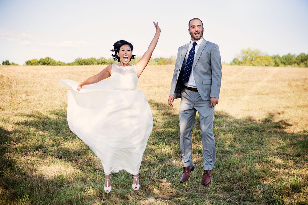 David & Katie who held their wedding at Camp Schodack, NY
