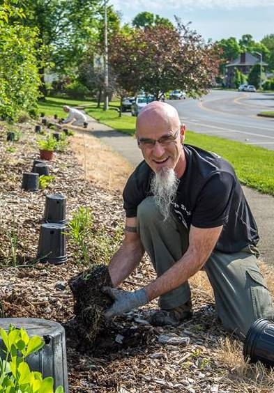 Sean Gladding - is a pastor, author and speaker. His passion is (re)introducing people to the narrative of the bible, which invites us to partner with the Creator in working together for a world in which all of life can flourish. He speaks regularly at churches, colleges, seminaries and retreats on the metanarrative of scripture; creation care; missional community; and what the church has to learn from Alcoholics Anonymous. His family live, love, work and grow food in the Martin Luther Kingdom Jr neighborhood of Lexington, Kentucky. They are founding members of the Fig Tree Collective. Sean's two published books are The Story of God, the Story of Us (IVP, 2010) and TEN: Words of Life for an Addicted, Compulsive, Cynical, Divided and Worn-Out Culture (IVP, 2014).