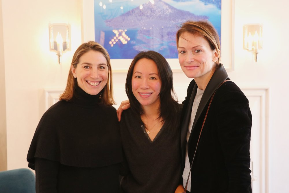 Zibby Owens, Kathy Wang and Lea Carpenter
