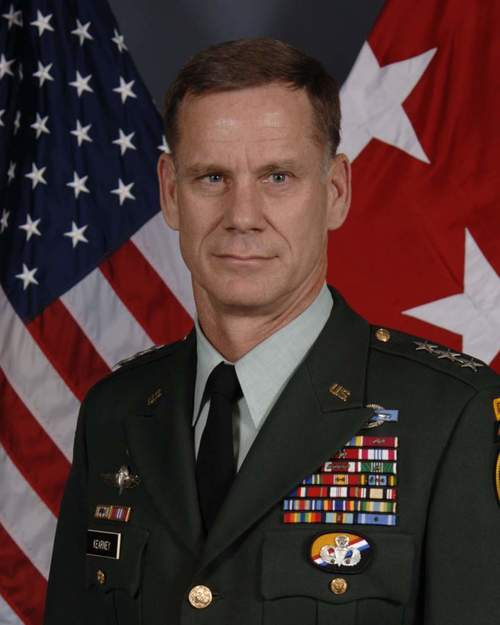 Lt. General Francis H. (Frank) Kearney III  US Army Retired