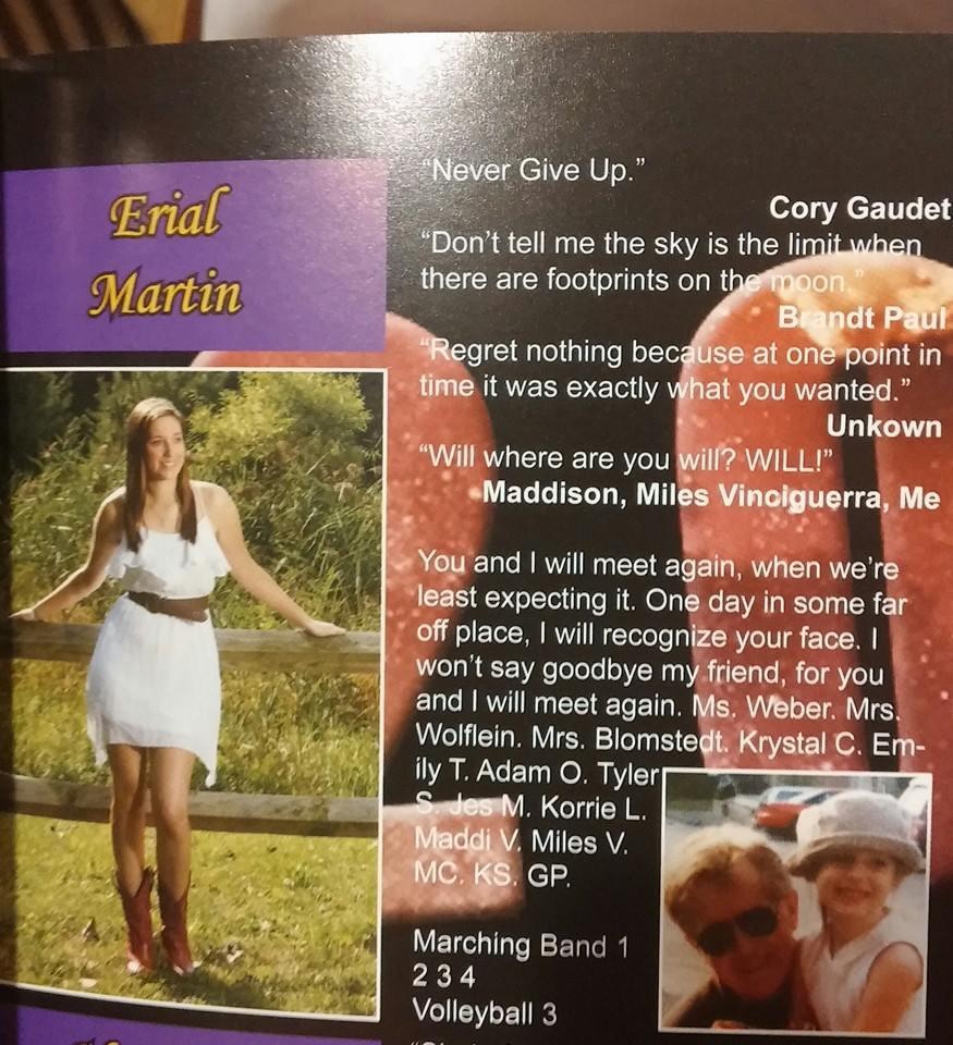 Erial Martin's Senior Page