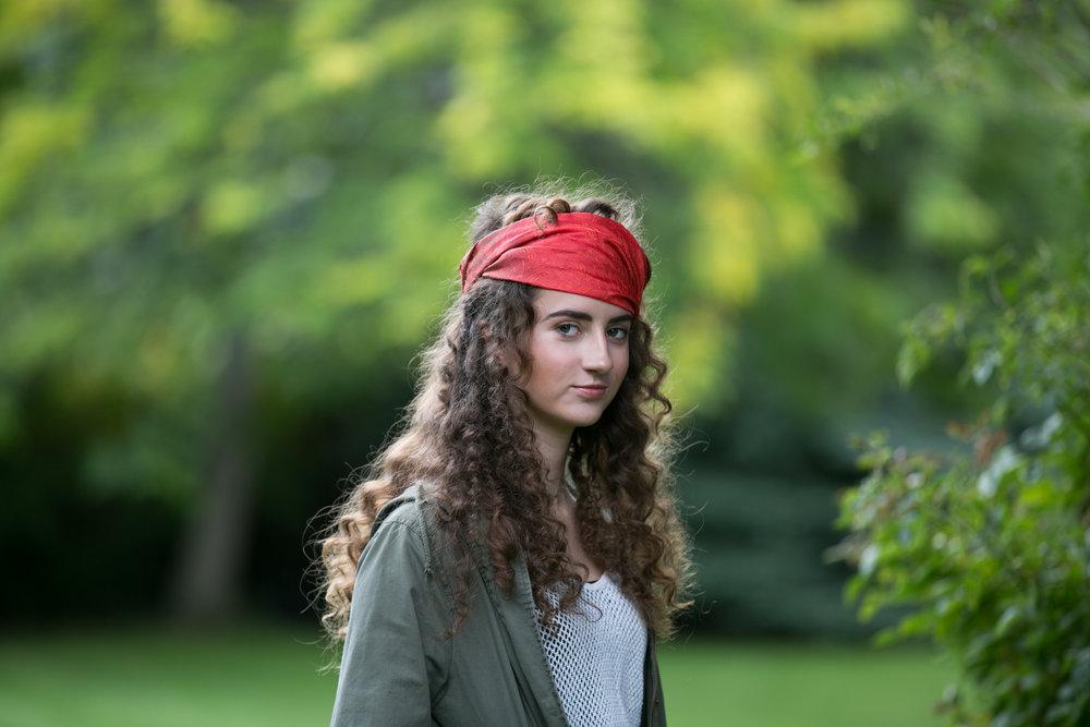 Summerland Johanna shoot in orchard