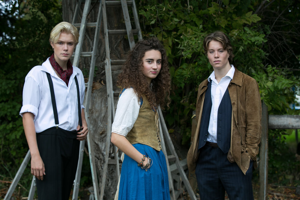 Noak, Johanna and Lars Summerland