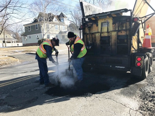 Emergency Pothole Patching -