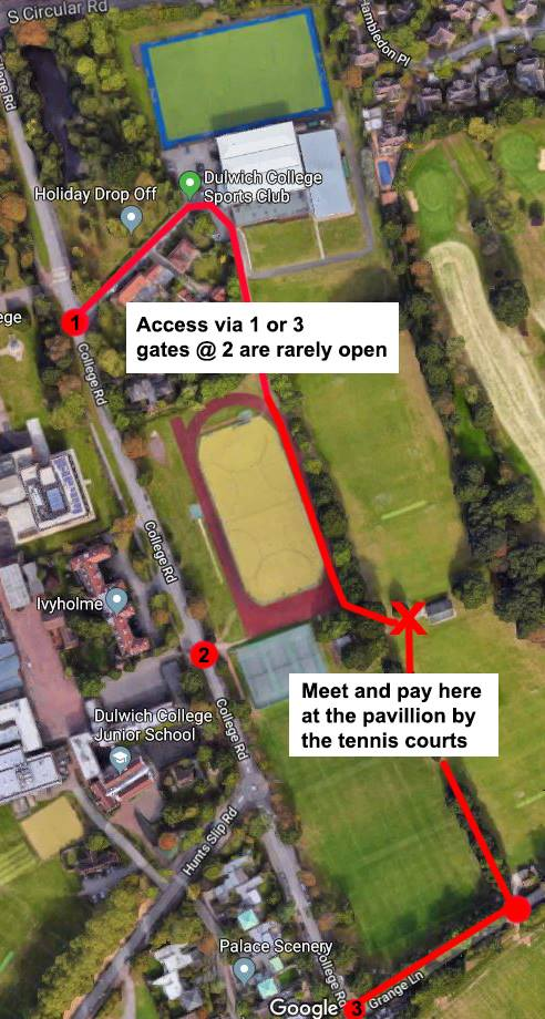 Dulwich College Track Location.jpg