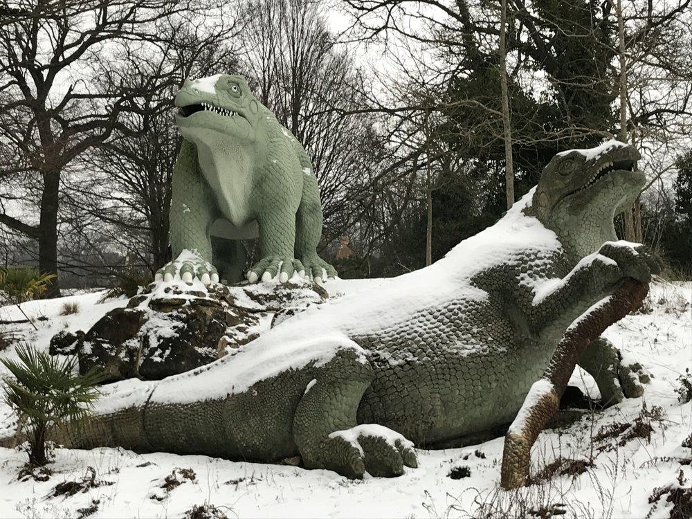 crystal palace dinosaurs -