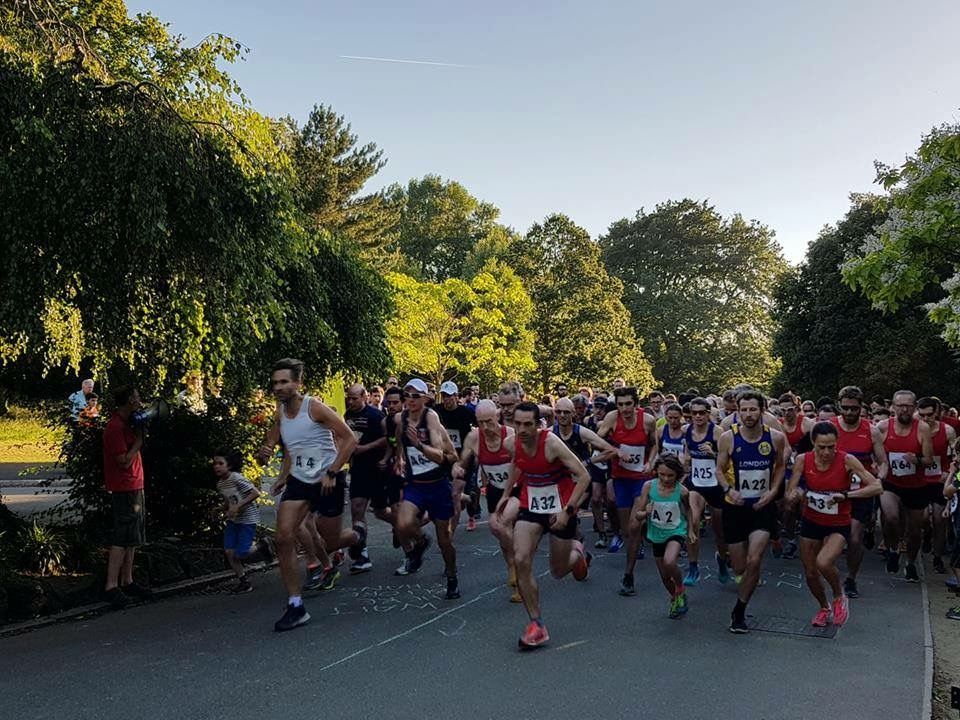MIDSUMMERS 3 X 1 MILE RELAY & CHILDREN'S FUN RUN  - We host an annual relay race open to any team of 3 every summer in Dulwich Park. Wednesday 27 June 2018, 7.30pmThis year we also have a Under 14's Fun Run at 7pm.Learn More →