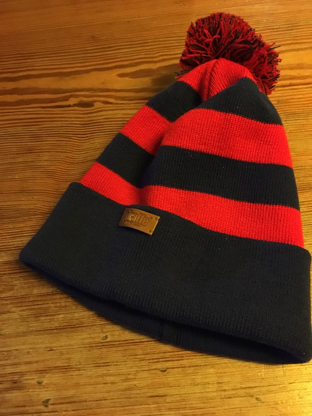 Our new bobble hats priced £15