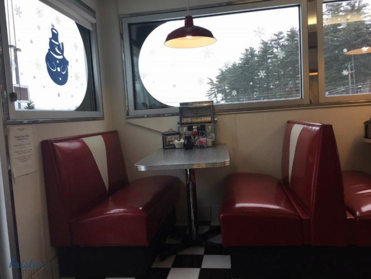 Prospect Diner Booth -- KMartinelli Blog_Writer & Marketer