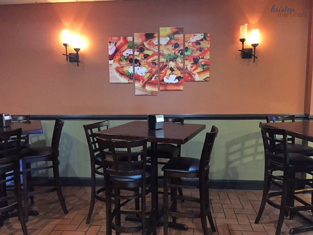 Primo Pizza_Entrance Tables 2_KMartinelli Blog_Writer & Marketer