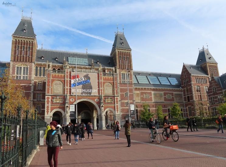 The Rijksmusum Front _ Kristen Martinelli Blog _ K. Martinelli _ Amsterdam Netherlands.jpg