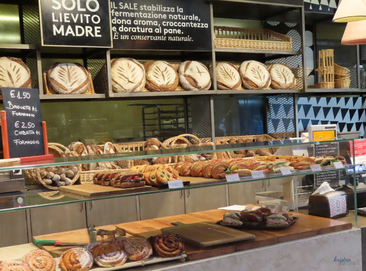 Osteria Pastella and the Central Market_Florence Italy_Bread Stand_K. Martinelli Blog _ Kristen Martinelli.png