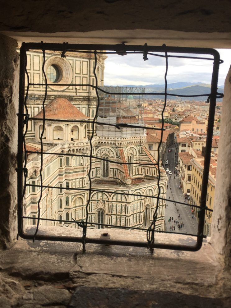 I Ghibellini Cafè  My Best Florence Morning _giotto's bell tower in florence K.Martinelli Blog_Kristen Martinelli.png