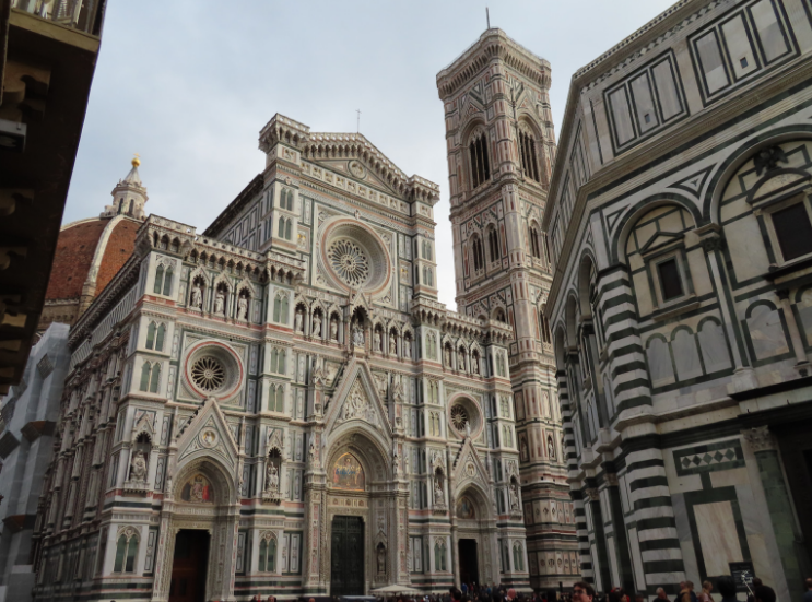 The Cathedral, Duomo, and Bell Tower